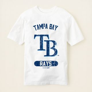 boy   graphic tees   licensed   Tampa Bay Rays graphic tee  Children
