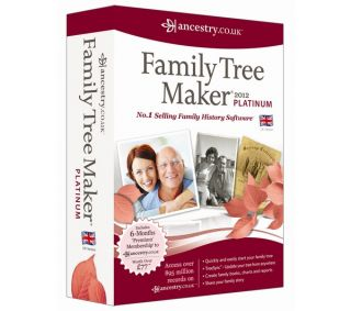 AVANQUEST Family Tree Maker 2012 Platinum Edition Deals  Pcworld