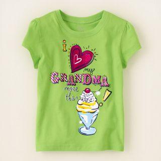 baby girl   love grandma graphic tee  Childrens Clothing  Kids