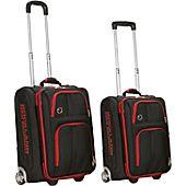 Rockland Luggage Varsity 2 Piece Carry On Luggage Set