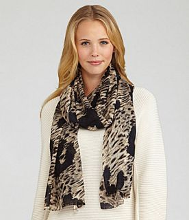 Collection 18 Alley Cat Wrap Scarf  Dillards