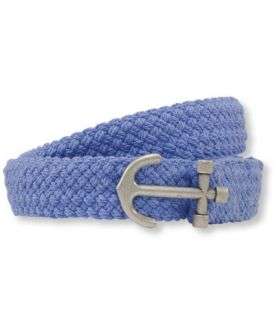 Womens Rope Belt, Anchor Belts   at L.L.Bean