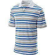 NIKE Mens Texture Stripe Golf Polo