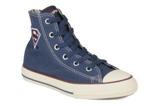 Chuck taylor all star dc heros superman logo k Converse (Bleu