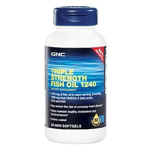 GNC Triple Strength Fish Oil 1240   GNC   GNC
