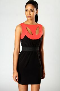 Sale  Dresses  Melanie Neck Detail Bodycon Dress