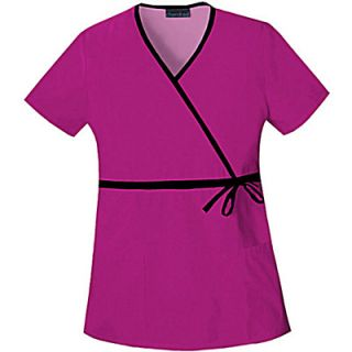 Cherokee Touch Womens Mock Wrap Scrubs Uniform Shirt  Meijer