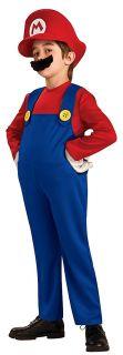 Rubies Super Mario Brothers Deluxe Mario Costume