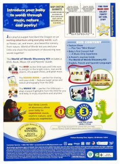 Disney Baby Einstein  World Of Words Discovery Kit DVD   Best Price