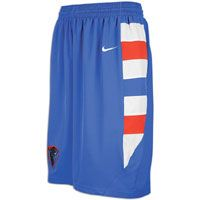 Nike College Twill Shorts   Mens   Depaul   Blue / White