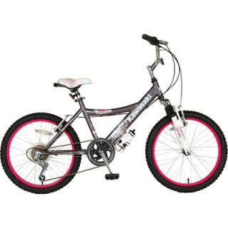 20 Inch Kawasaki KX20G Girls Mountain Bike