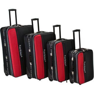Rockland 4 Piece Rockland Polo Luggage Set  Meijer