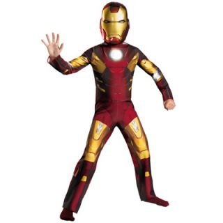 The Avengers Iron Man Mark VII Classic Boys Costume   Size Medium (7 8