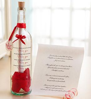Message in a Bottle® Happy Anniversary  1800FLOWERS 97807