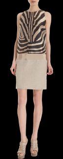 Giambattista Valli Zebra Dress