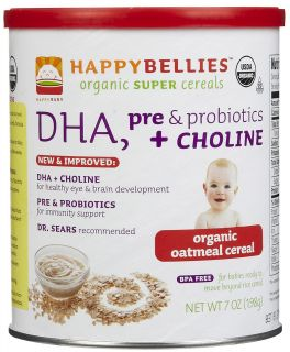 Happy Baby happybellies Oatmeal Cereal