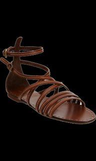 Miu Miu Multi Strap Flat Sandal