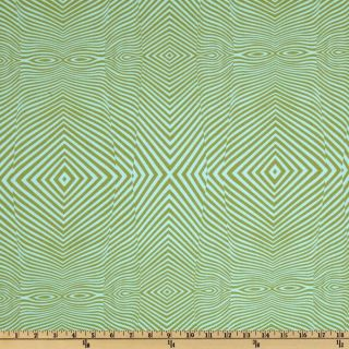 The Birds & The Bees Lazy Stripe Pond   Discount Designer Fabric