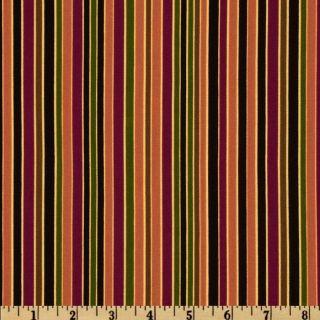 Stripes,Dots, & Plaids Stripes Rust   Discount Designer Fabric