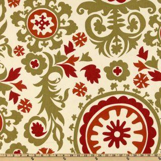 Premier Prints Suzani Autumn/Natural   Discount Designer Fabric