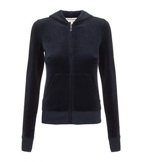 Juicy Couture – Juicy Couture Crest Velour Tracksuit Top at Harrods