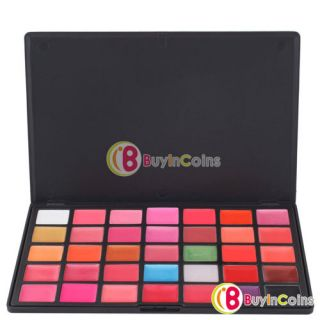 35 Color Lips Gloss Lipsticks Makeup Cosmetics Palette   BuyinCoins