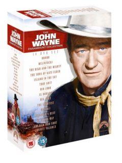 John Wayne Complete (15 Discs) DVD Littlewoods