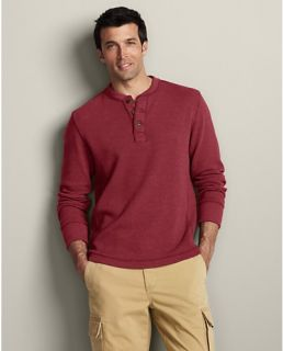 Eddies Signature Thermal Henley  Eddie Bauer