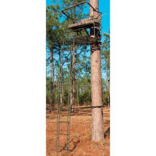16 Big Buddy Dlx Ladder Stand   707576, Ladder Tree Stands at
