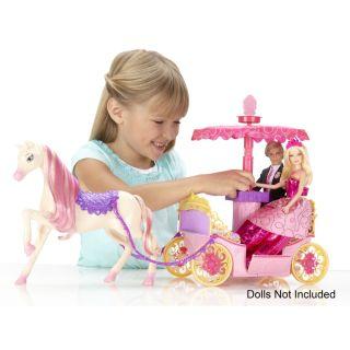 BARBIE™ PRINCESS CHARM SCHOOL Pop Up Canopy Carriage   Shop.Mattel