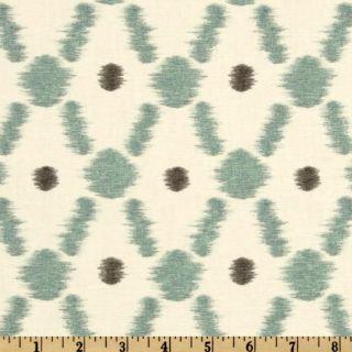 Braemore Konya Ikat Pond   Discount Designer Fabric   Fabric