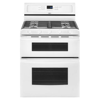 Whirlpool Gold 30 Double Oven Freestanding Gas Range   Outlet