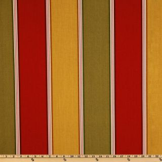 Richloom Indoor/Outdoor Napa Stripe Salsa   Discount Designer Fabric