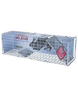 Live Animal Cage Trap, 24 in. x 7 in. x 7 in.   5131107  Tractor
