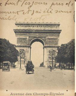 Arc de Triumphe Champs Elysees Wall Art   Unframed Art   Wall Decor