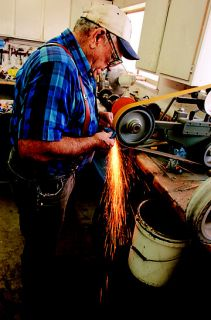 Bladesmith Creates Custom Knives For Work and Show  Tractor Supply Co
