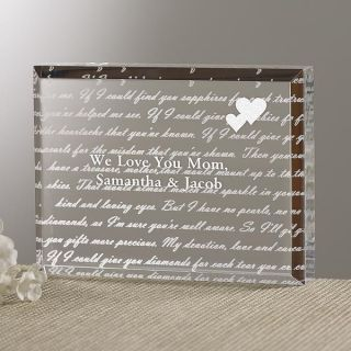 5329   Dear Mom Poem Personalized Keepsake