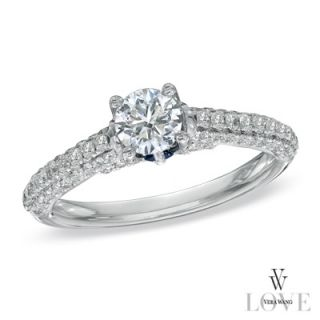 Vera Wang LOVE Collection 1 CT. T.W. Diamond Engagement Ring in 14K