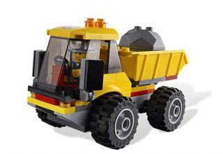 Carregadora e Camião com Caixa (LEGO City 4201), LEGO, Infantil