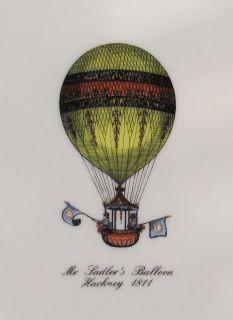 Germany Sadler Balloon Hackney Bowl Plate Ceramic Fornasetti Era