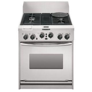 KitchenAid 30 in. Freestanding Dual Fuel Range w/ Steam Assist