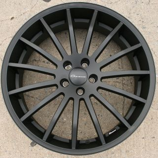 MARTUNI 22 BLACK RIMS WHEELS GMC TERRAIN 10 up / 22 X 9.0 5H +38