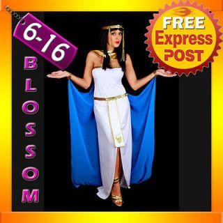 G21 Ladies Cleopatra Egyptian Goddess Fancy Dress Halloween Costume