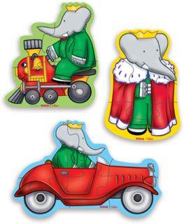 Caixa Babar com 3 Puzzles, Vilac, Infantil. Comprar livro na Fnac.pt