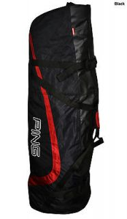 New Ping Golf Travel Cover Travel Bag Black Large Red