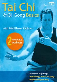 Tai Chi Qui Gong Basics With Matthew Cohen DVD, 2011