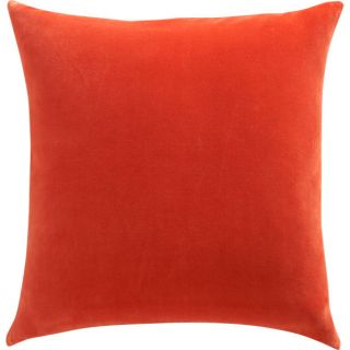 leisure burnt orange 23 pillow in pillows  CB2