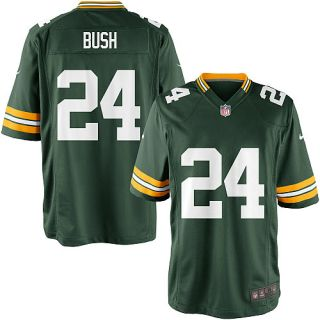 Youth Nike Green Bay Packers Jarrett Bush Game Team Color Jersey (S XL