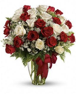 Loves Divine Bouquet   Long Stemmed Roses Flowers, Loves Divine