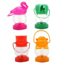Bulk Luau Battery Operated Plastic LED Lanterns at DollarTree